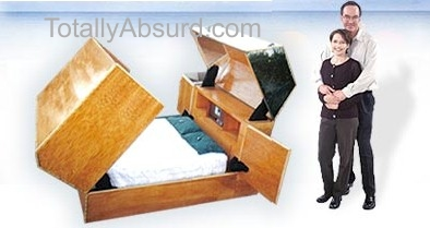 Bulletproof Bed - Real Stuff - Totally Absurd Inventions & Patents!