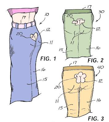 Inventions & Patents - Butt Cleavage Pants