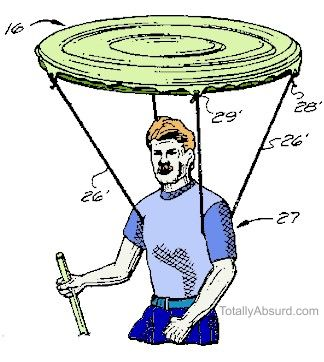 Floating Shade - Totally Absurd Inventions & Patents!