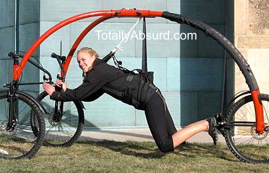 Real Stuff New Inventions - Hang Low Bike! TotallyAbsurd.com