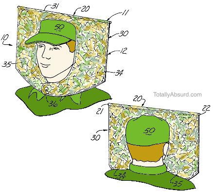 Head Napkin -  Totally Absurd Inventions & Patents!