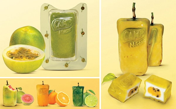 new inventions juice box shaped fruit